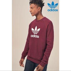 Men's Adidas Trefoil Crew Neck Sweater